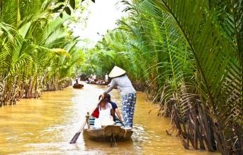 Mekong delta -  rieka deväťhlavého draka
