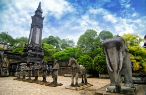 Hue - cisárske mesto