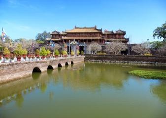 vstup císařská citadela Hue