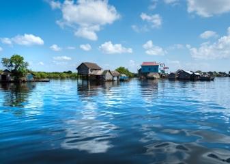 delta řeky Mekongu