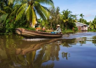 mekong  řeka Vietnam
