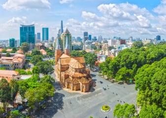 Saigon katedrála damme