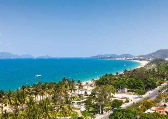 Pláž v Nha Trang