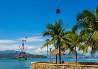 lanovka pláž Nha Trang
