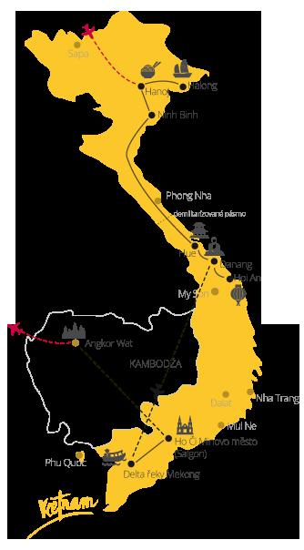 Zájazd Vietnam Kambodža pre každého